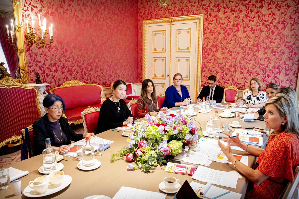 Queen Máxima receives members of G20 Women20 network | News
