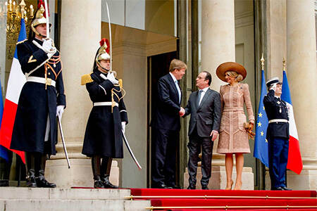 State visit to France, March 2016