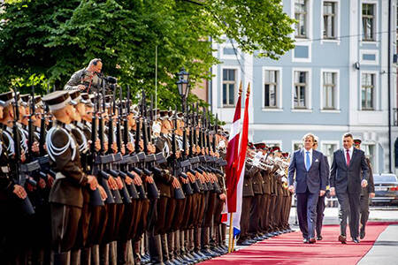 State visit to Latvia, June 2018