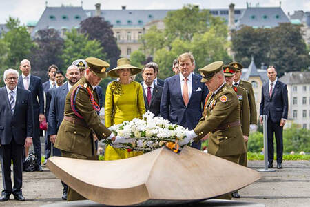 State visit to Luxembourg, May 2018