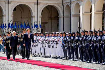 State visits to Italy and Vatican City, June 2017